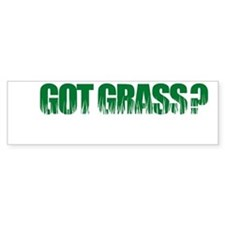 Got Grass Bumper Bumper Sticker