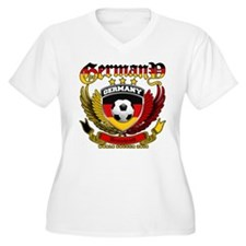 Deutschland Germany 2010 World Soccer T-Shirt