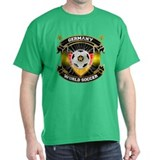 Germany World Soccer Cardinal T-Shirt