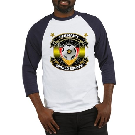 Germany World Soccer Baseball Jersey