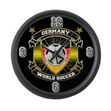Germany World Soccer Large Wall Clock
