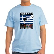 Greece World Soccer T-Shirt
