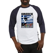 Greece World Soccer Baseball Jersey