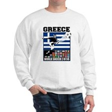 Greece World Soccer Sweatshirt
