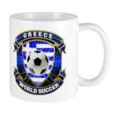Greece Soccer Power Mug