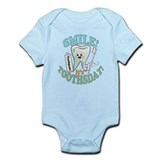 Smile It's Toothsday! Infant Bodysuit