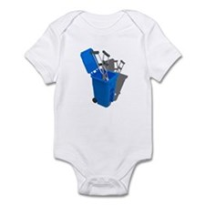 Recycled Crutches Infant Bodysuit