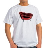 Red BathTub T-Shirt