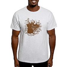 Music Speaks Cello T-Shirt