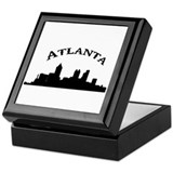 Funny Atlanta Keepsake Box