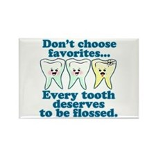 Funny Dentist Humor Rectangle Magnet (100 pack)