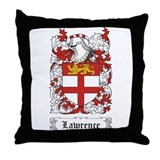 Lawrence [Scottish] Throw Pillow