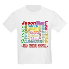 Team General Hospital Kids Light T-Shirt
