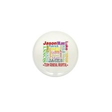 Team General Hospital Mini Button (10 pack)