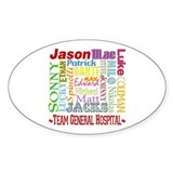 Team General Hospital Decal