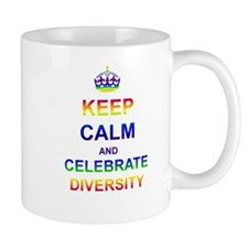 Keep Calm and Celebrate Diver Small Mug