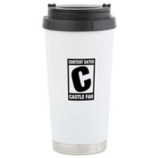 Rated Castle Fan Stainless Steel Travel Mug