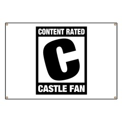 Rated Castle Fan Banner
