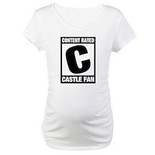 Rated Castle Fan Maternity T-Shirt