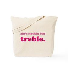 Funny Music Treble Tote Bag