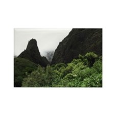 Visions of Maui IAO Needle Rectangle Magnet