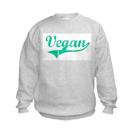 Team Vegan Kids Sweatshirt