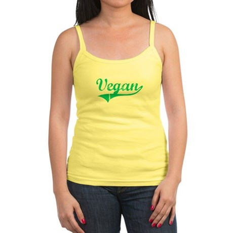 Team Vegan Jr. Spaghetti Tank