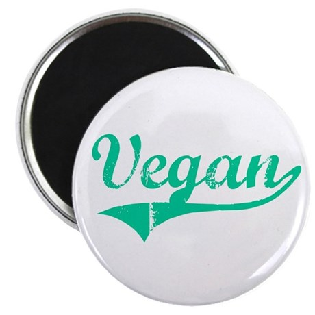 "Team Vegan 2.25"" Magnet (100 pack)"