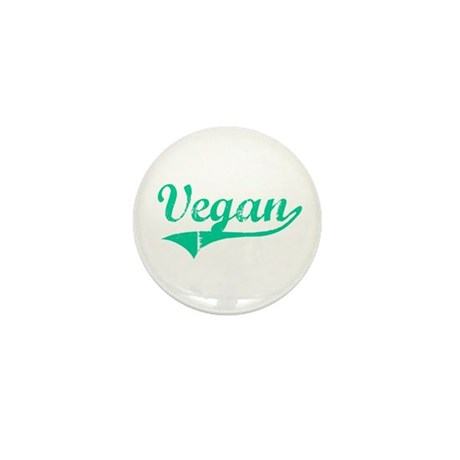 Team Vegan Mini Button (10 pack)