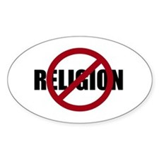 Anti-religion Decal