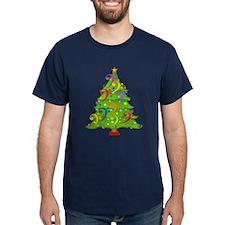 Bass Clef Christmas T-Shirt
