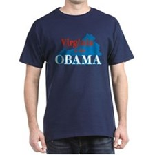 Virginia Is For Obama T-Shirt