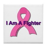 I Am A Fighter Tile Coaster