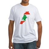 Lebanon Map Shirt