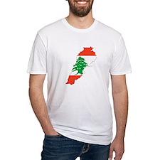 Lebanon Map Shirt