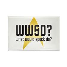 Star Trek: WWSD? Rectangle Magnet