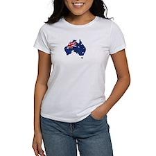 Australian Map Tee