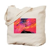 Escher Quote Pink Tote Bag