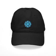 Blue Snowflake Baseball Hat