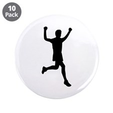 """Runner running 3.5"""" Button (10 pack)"""