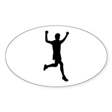 Runner running Decal