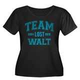 LOST Fan Team Walt Women's Plus Size Scoop Neck Da
