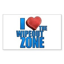 I Heart the Wipeout Zone Decal