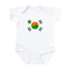 Irish/Korean Korean/Irish Infant Bodysuit