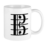 Alto Clef Small Mugs