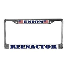 Union Reenactor License Plate Frame