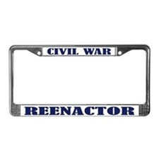 Civil War Reenactor License Plate Frame