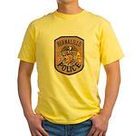 Bernalillo New Mexico Police Yellow T-Shirt