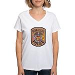 Bernalillo New Mexico Police Women's V-Neck T-Shir