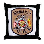 Bernalillo New Mexico Police Throw Pillow